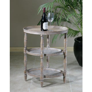 Uttermost KendellenWeathered Wood Accent Table