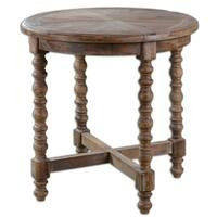 Uttermost Samuelle Reclaimed Wood End Table