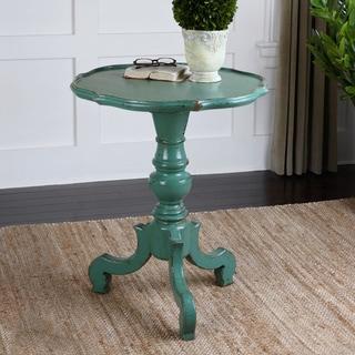 Uttermost Aquila Antique Aqua Accent Table