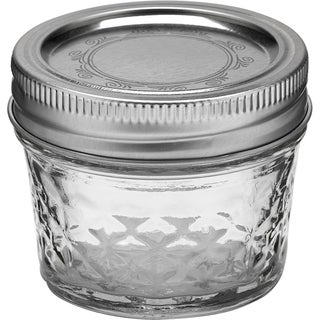 Crystal 4-ounce Jelly Jars (Set of 12)