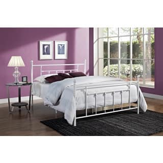 DHP Manila White Metal Bed Frame. Metal Kids    Toddler Beds For Less   Overstock com