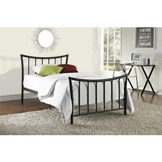 Porch & Den Wicker Park Honore Bronze Metal Bed