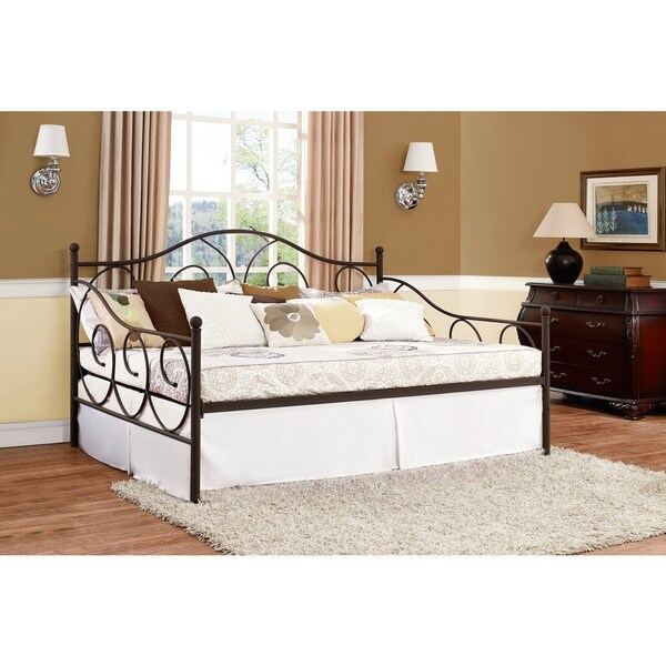 Dhp Victoria Bronze Metal Full Daybed Free Shipping