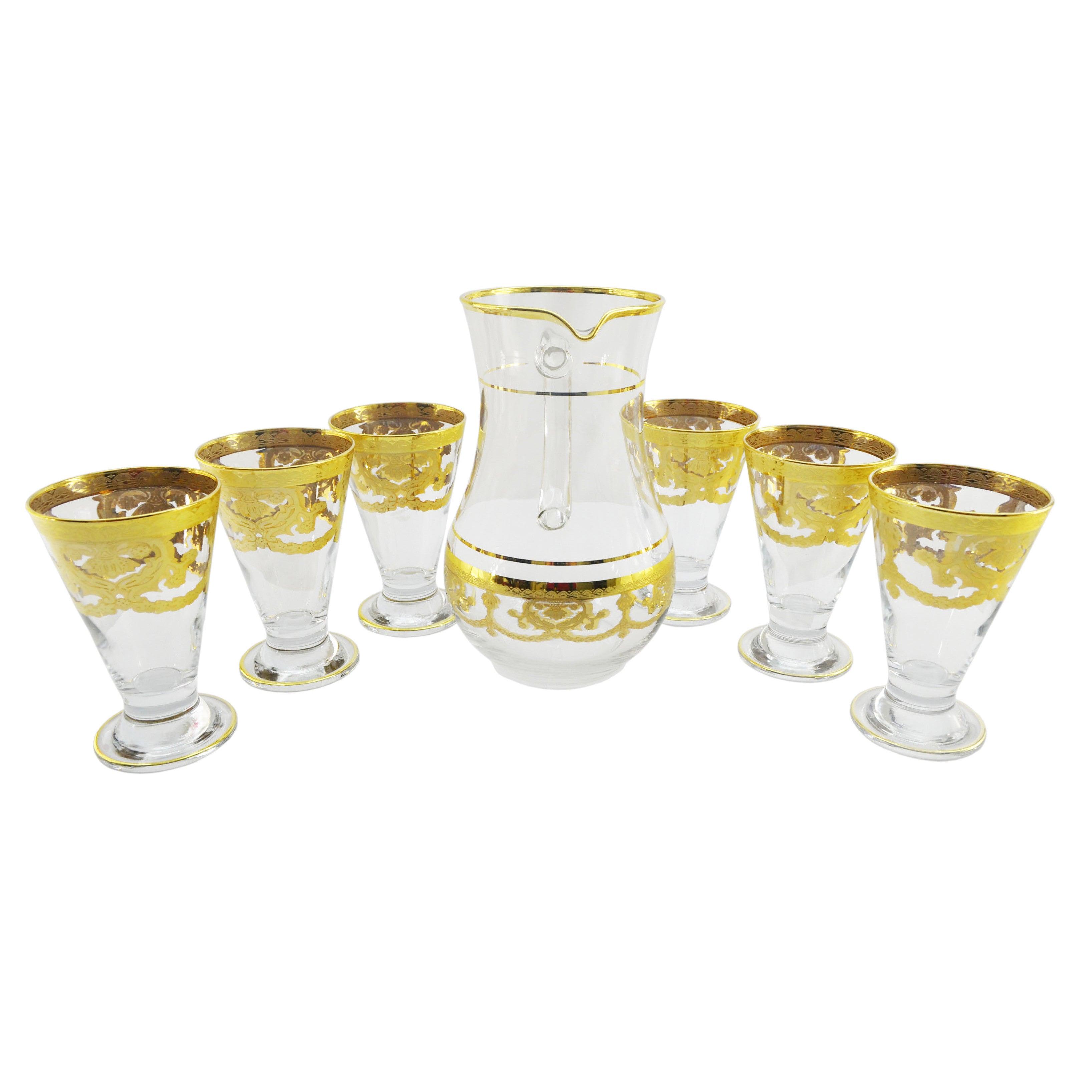 Threestar Six-piece Glass Set with Glass Pitcher (GT457),...