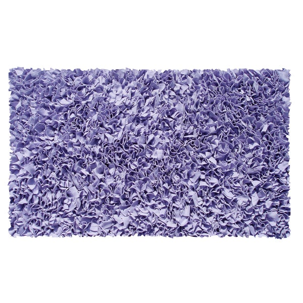 Walmart Purple Rug: Shop Shaggy Raggy Lavender Area Rug
