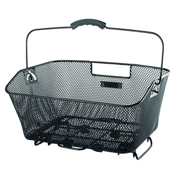 Ventura Wire Mesh Bicycle Basket with Clamp Attachment