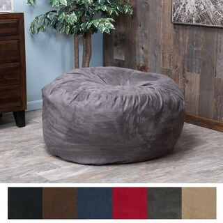 Merveilleux Christopher Knight Home Paige Faux Suede 3 Foot Lounge Beanbag Chair