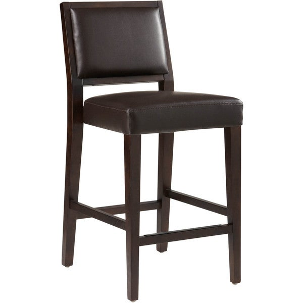 "Counter Stools Overstock: Shop Sunpan '5West' Citizen Bonded Leather 26"" Counter"