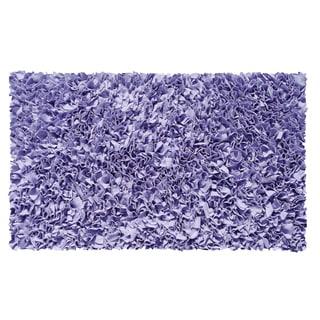 Shaggy Raggy Lavender Area Rug (4'7 x 7'7)