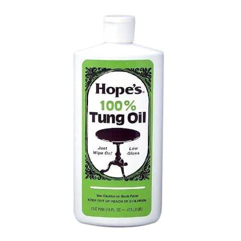 Hope Company Household Cleaning 100-percent Tung Oil