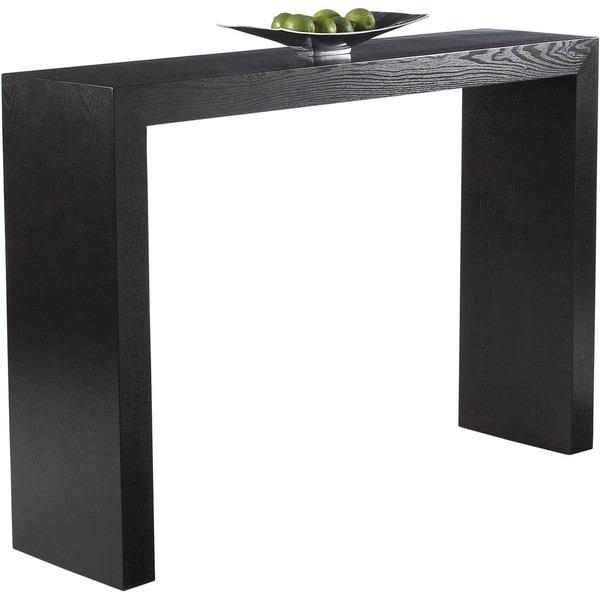 Sunpan U0027Ikonu0027 Arch Contemporary Wood Console Table   Free Shipping Today    Overstock.com   16415241