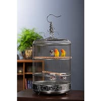 Prevue Pet Products Empress Stainless Steel Bird Cage - N/A