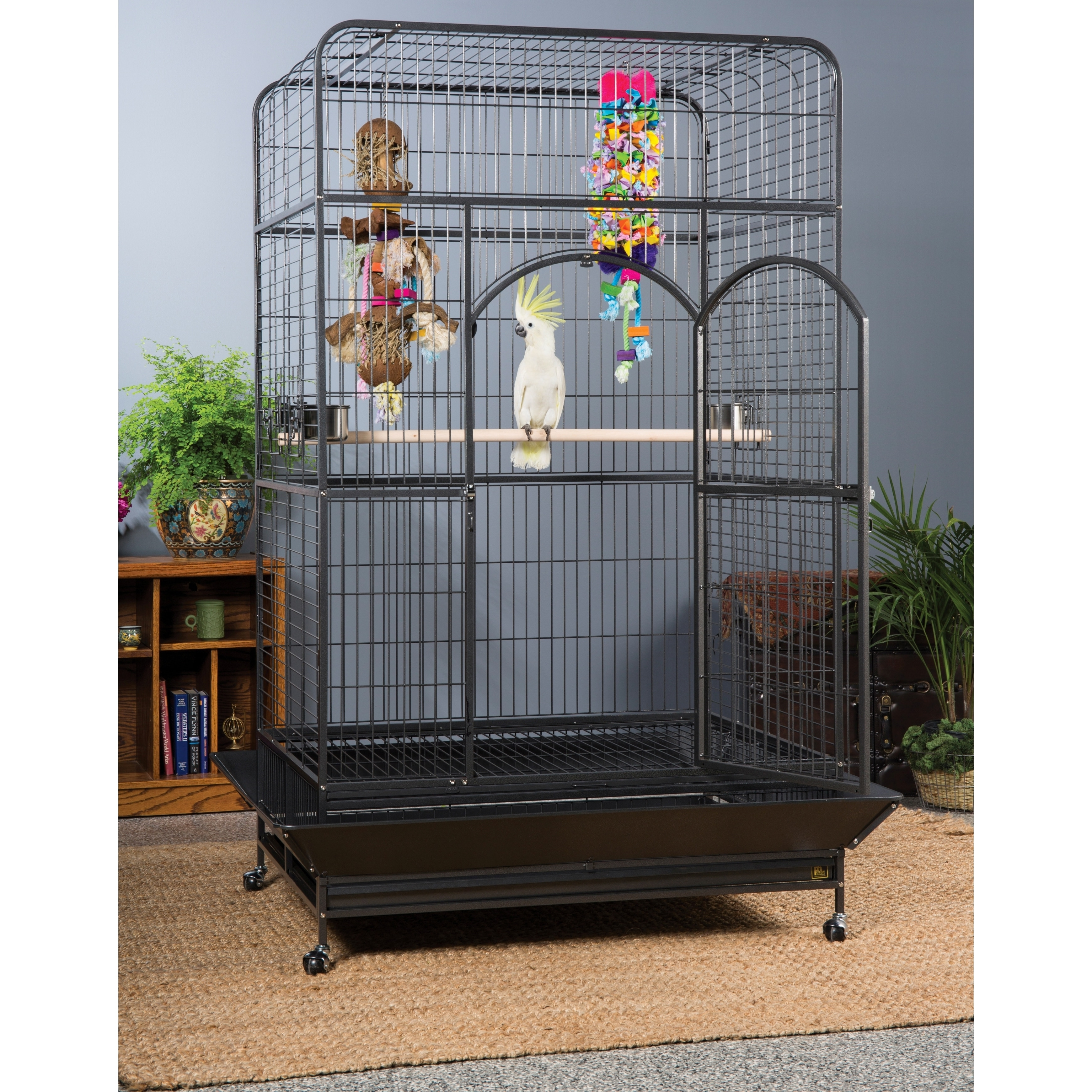 Prevue Pet Products Empire Macaw Cage 3157 (Black Hammert...