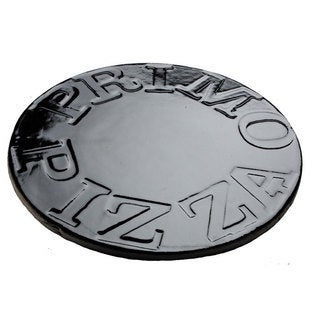 Primo 16-inch Porcelain Glazed Baking Pizza Stone