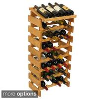 Pine Canopy Arapaho 32-bottle Stackable Wood Wine Rack with Display Top