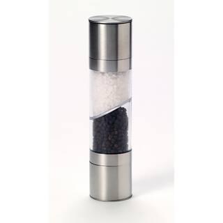 Kamenstein Stainless Steel Dual Salt and Pepper Grinder