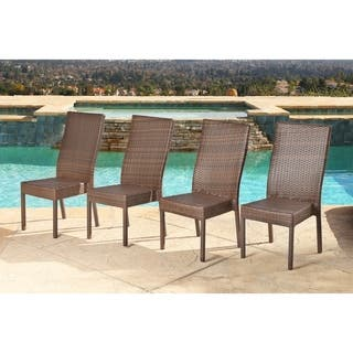 Abbyson Palermo Outdoor Wicker Dining Chairs (Set of 4)|https://ak1.ostkcdn.com/images/products/9250534/P16416240.jpg?impolicy=medium