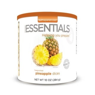 Emergency Essentials Freeze-dried Pineapple