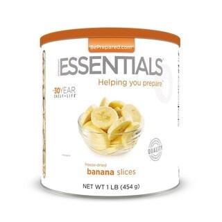 Emergency Essentials Freeze Dried Banana Slices