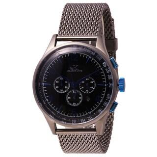 Adeekaye Mens Mondo G-3 Collection Japanese OS20 Chronograph Watch