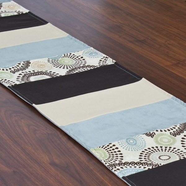 Raja spa 12 5 x 71 inch pieced table runner free for 85 inch table runner