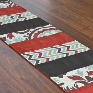 Suzani Nile Denton 12.5 x 71-inch Pieced Table Runner