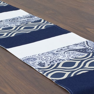 Nichole Premier Navy 13.5 x 72-inch Table Runner