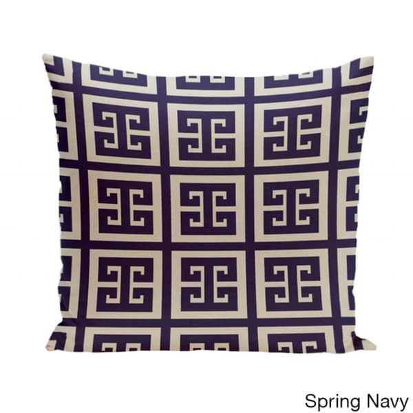 E by design Decorative Pillow Spring Navy