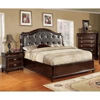 Furniture of America Crown 3-piece Platform Bedroom Set