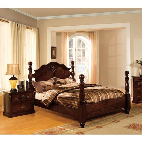 Furniture of America Weston Traditional Pine 2-piece Bedroom Set