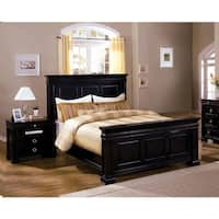 Furniture of America Claresse Traditional 2-piece Espresso Panel Bedroom Set