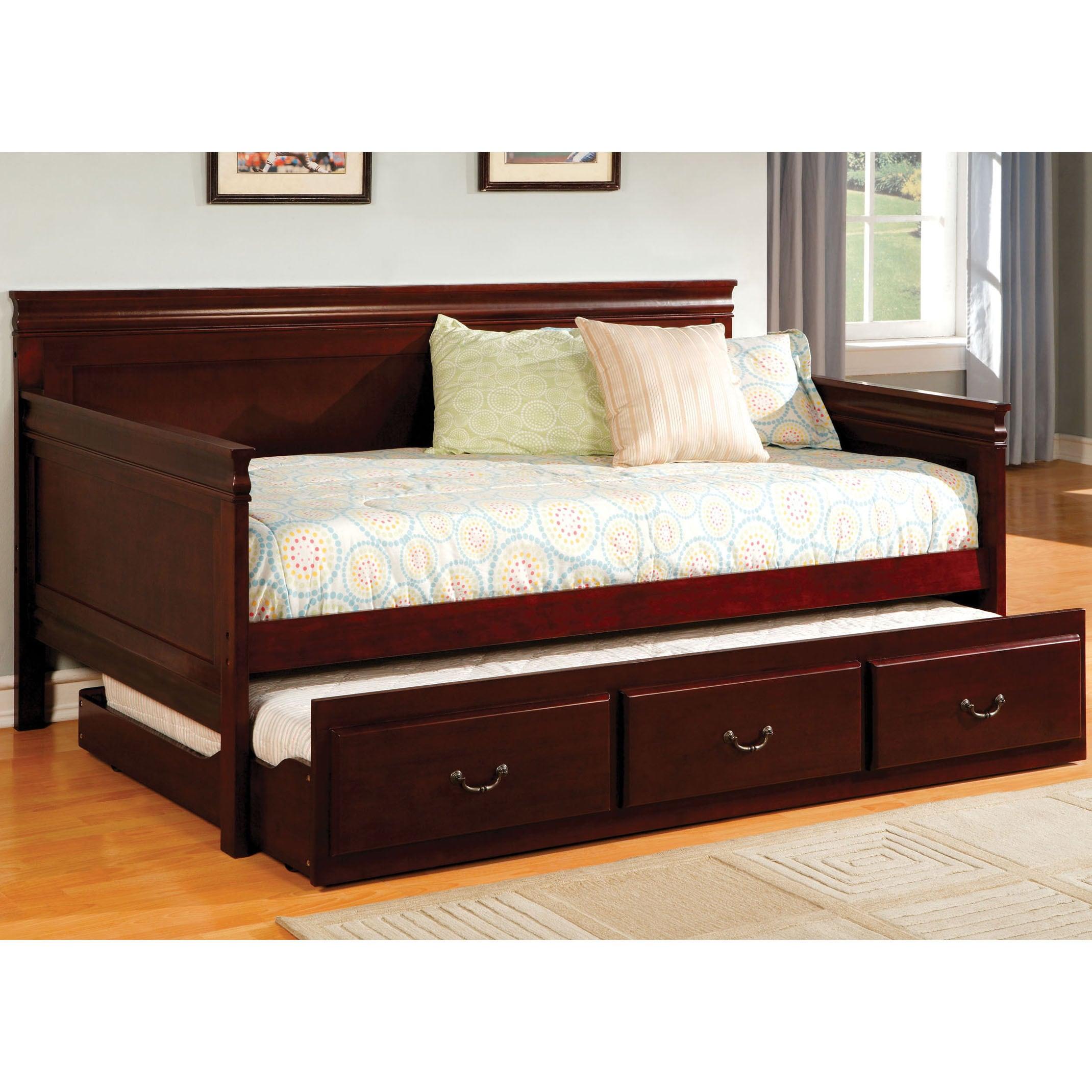 Furniture of America Bausine English Style Platform Daybe...