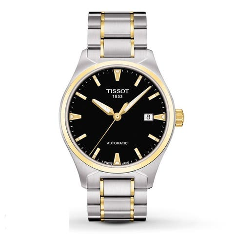 Tissot Men's T0604072205100 'T-Tempo' Automatic Two Tone Watch