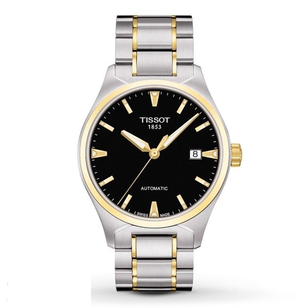 Tissot Men's T0604072205100 'T-Tempo' Automatic Two Tone Watch. Opens flyout.