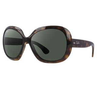 Ray-Ban Women's 'Jackie Ohh II RB4098' Round Plastic Sunglasses