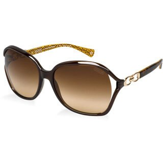 Coach Women's 'HC8018 Natasha' Oversize Sunglasses