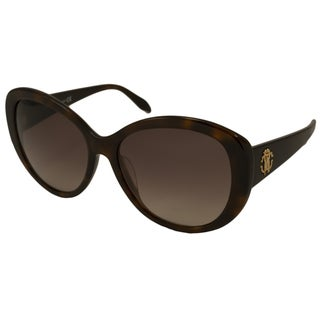 Roberto Cavalli Women's RC727T Temoe Cat-Eye Sunglasses