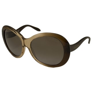Roberto Cavalli Women's RC734S Full Moon Oversize Sunglasses