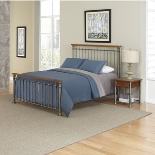 Home Styles The Orleans Bed and Night Stand