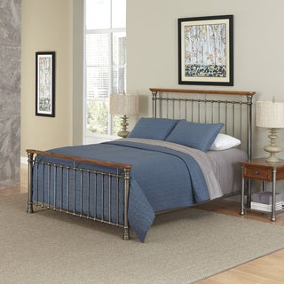 Home Styles The Orleans Bed and Two Night Stands