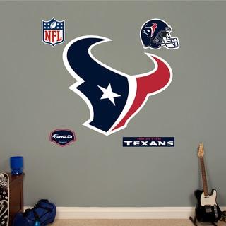 Fathead Houston Texans Logo Wall Decal