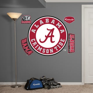 Fathead Alabama Crimson Tide Logo Wall Decals