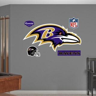 Fathead Baltimore Ravens Logo Wall Decal
