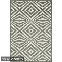 Indoor Outdoor Palm Floral Rug 9 2 X 12 1 Free