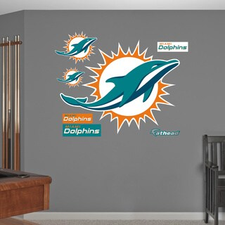 Fathead Miami Dolphins Logo Wall Decal