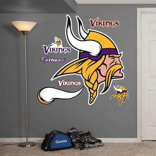 Fathead Minnesota Vikings Logo Wall Decal