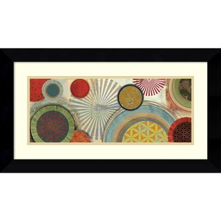 Tom Reeves 'Commotion II' Framed Art Print 27 x 15-inch