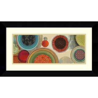 Tom Reeves 'Commotion I' Framed Art Print 27 x 15-inch