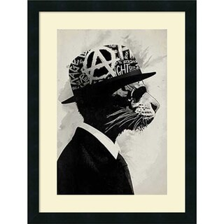 Hidden Moves 'Middle Class Rebel' Framed Art Print 18 x 24-inch