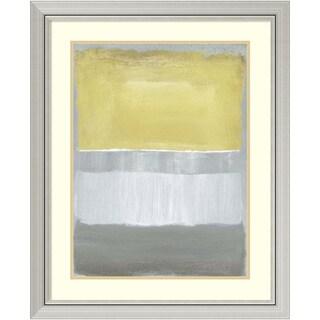 Caroline Gold 'Half Light I' Framed Art Print 27 x 33-inch